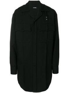 длинная куртка рубашечного типа Raf Simons