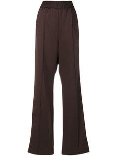 атласные широкие брюки Marc Jacobs
