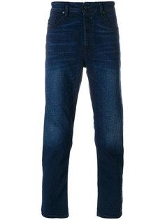 джинсы с выцветшим эффектом Diesel