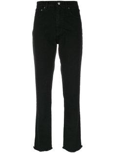 straight leg raw edge jeans Magda Butrym