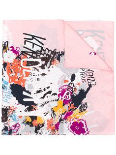 шарф с графическим принтом Kenzo