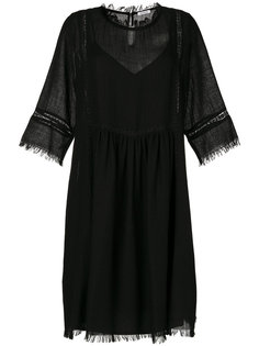 платье с бахромой  P.A.R.O.S.H.