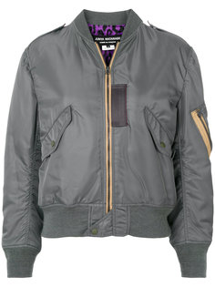 куртка бомбер на молнии Junya Watanabe Comme Des Garçons