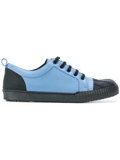 кроссовки в стиле колор блок Marni