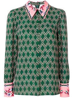 приталенная блузка с вышивкой  Vivetta