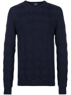 фактурный свитер в узор в квадраты Ballantyne