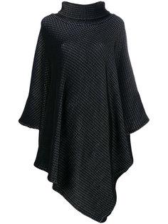 асимметричное платье с отворотом  Issey Miyake