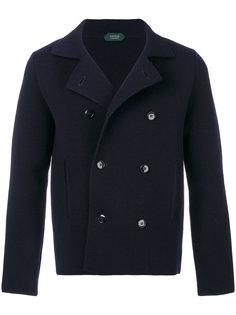 двубортная куртка Zanone