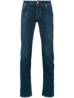 джинсы кроя слим Jacob Cohen