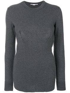 свитер с декоративной строчкой  Stella McCartney
