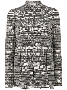 рубашка с геометрическим принтом  Valentino