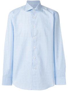 клетчатая рубашка Canali
