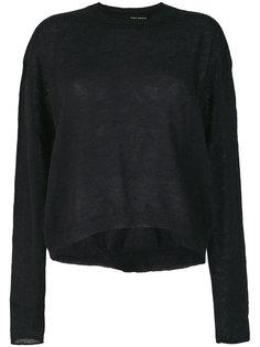 укороченный свитер  Isabel Benenato