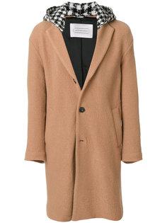пальто с контрастным капюшоном Route Des Garden