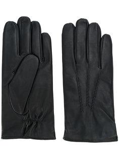 однотонные перчатки Orciani