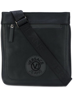 сумка на плечо с заплаткой с логотипом Versace Jeans
