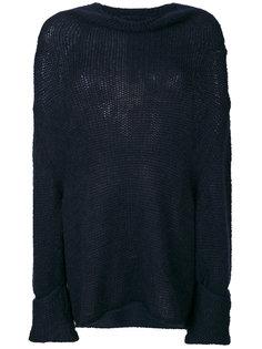 пуловер с высокой горловиной Semicouture