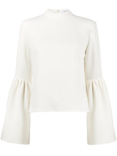 Ivory Marta Blouse With Bell Split Sleeves Rejina Pyo