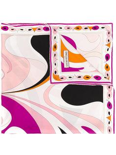 декорированный шарф Emilio Pucci