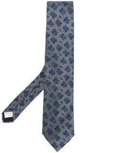 галстук с принтом пейсли Lardini