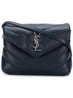 стеганая сумка на плечо Monogram Saint Laurent