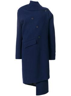 двубортное пальто Pulled Balenciaga