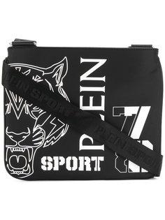 сумка на плечо с принтом тигра Plein Sport