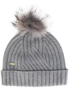 трикотажная шапка с помпоном Woolrich