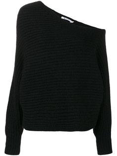 свитер на одно плечо T By Alexander Wang
