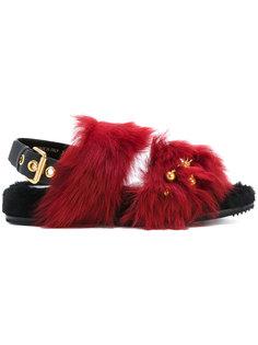 декорированные сандалии Car Shoe