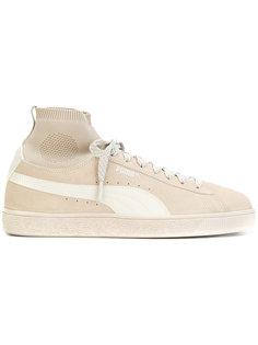 классичсекие кроссовки с носочной вставкой Puma