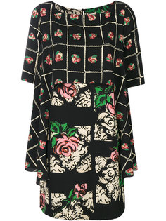 платье с цветочным принтом IM Isola Marras