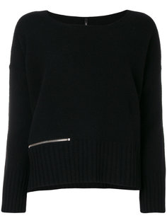 свободный свитер с молнией  Pierantoniogaspari