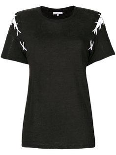 футболка с декоративной прошивкой Iro