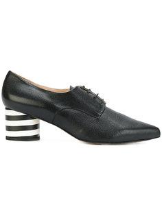 туфли на шнуровке с заостренным носком Lenora