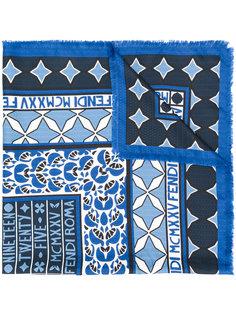 printed scarf Fendi