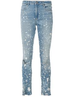 выцветшие джинсы слим  Alexander Wang