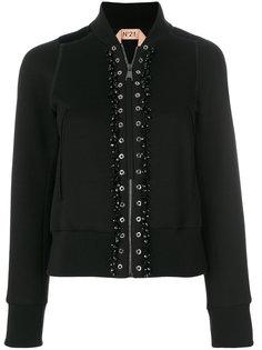 куртка-бомбер с люверсами  Nº21