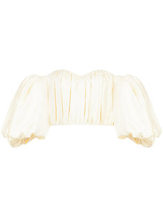 off shoulder bustier blouse  Ellery