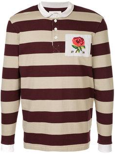 рубашка-поло с вышивкой Kent & Curwen