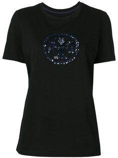 футболка с круглым вырезом с логотипом Tory Burch