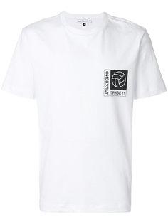 футболка с принтом с логотипом Gosha Rubchinskiy ГОША РУБЧИНСКИЙ