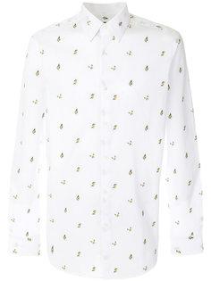 рубашка в бабочки Fendi