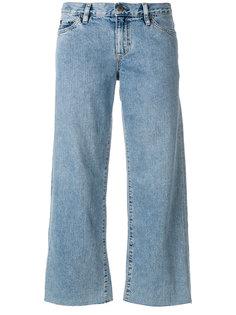 укороченные широкие джинсы Simon Miller
