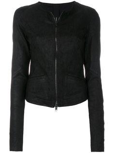 куртка на молнии с круглым вырезом  Isabel Benenato