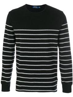 полосатый свитер с логотипом Polo Ralph Lauren