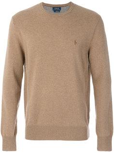 свитер с круглым вырезом с логотипом Polo Ralph Lauren