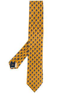 галстук с узором Polo Ralph Lauren