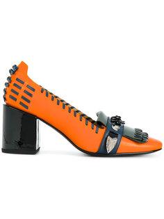 туфли-лодочки с бахромой Toga Pulla