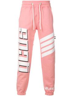 спортивные брюки с принтом Gcds